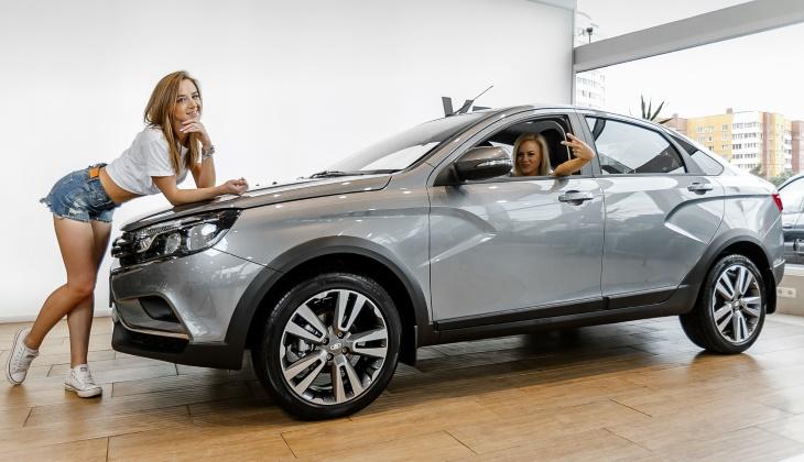 Продажи автомобилей в сентябре выросли на 6%, лидируют две модели «Лады»
