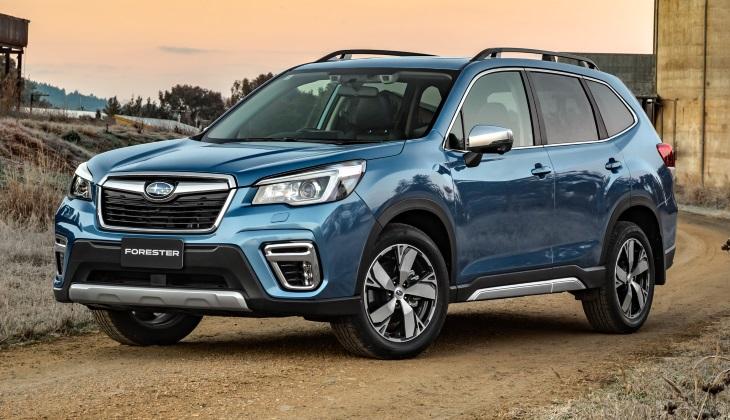 Объявлены цены на новый Subaru Forester для России
