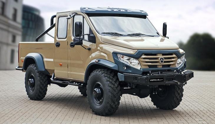 Уникальный вездеход «ГАЗ Вепрь Некст» выставили на продажу