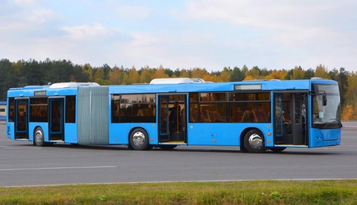 Минский автозавод сделал большой автобус новой конструкции