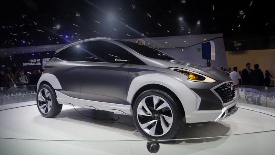 Шоу-кар Hyundai Saga EV обрисовал новый компакт