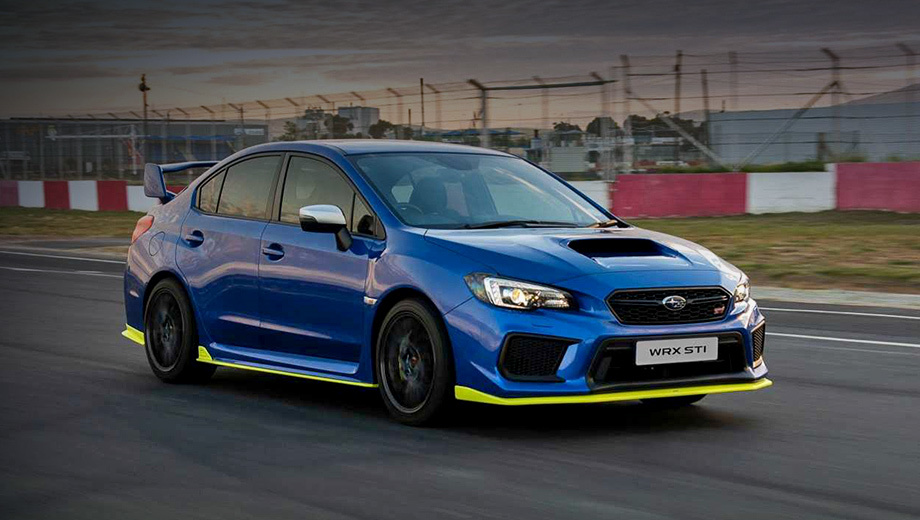 В Южной Африке построен мощнейший седан Subaru WRX STI