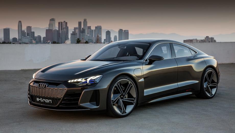 Концепт Audi e-tron GT приготовился к  путешествиям