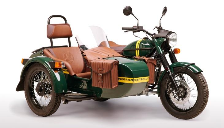 Кофемашина, бутылка водки, дрон… Самые необычные версии мотоциклов «Урал»