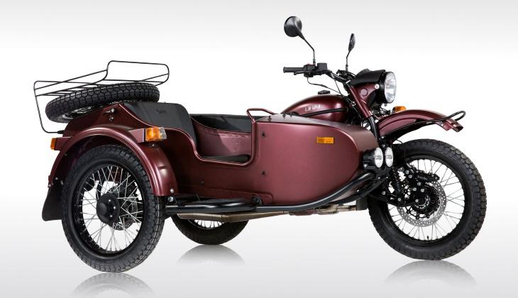 Представлен обновлённый мотоцикл «Урал» для Америки