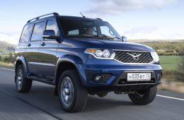 Завершаются испытания внедорожника УАЗ Патриот c «автоматом»