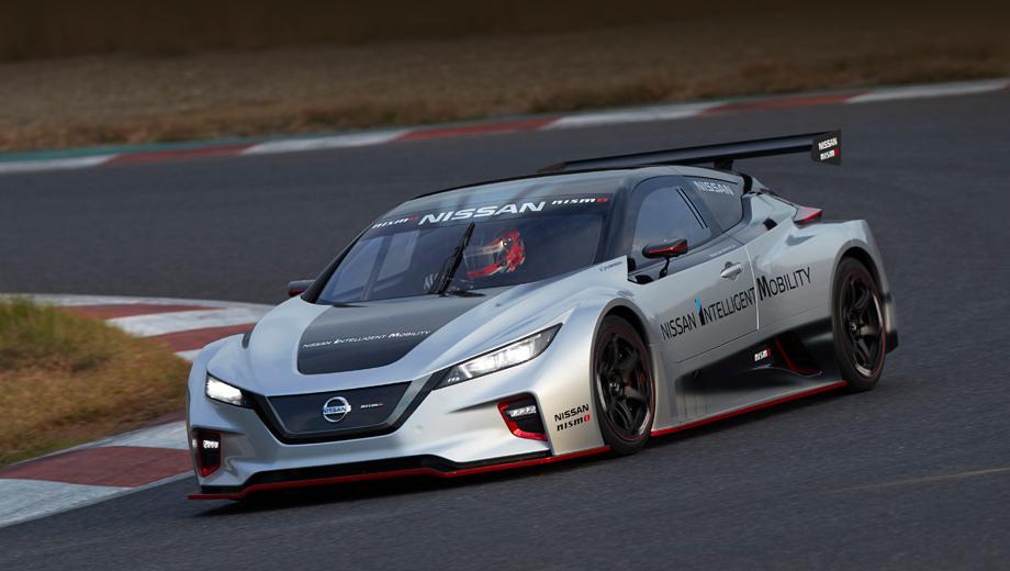 Гоночный электрокар Nissan Leaf Nismo RC освоил полный привод