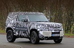 Новый Land Rover Defender будет выпускаться в Словакии