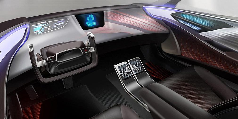 Toyota показала интерьер будущих беспилотников