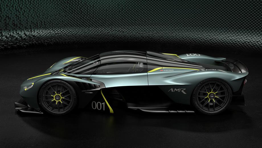 Гиперкар Aston Martin Valkyrie показал сменный трековый пакет