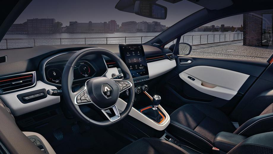 В интерьере хэтчбека Renault Clio произошла революция