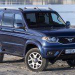 УАЗ расширил оснащение базовых версий «Патриота»