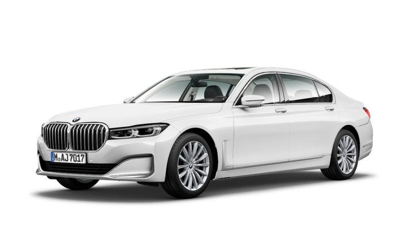 Обновленную «семерку» BMW рассекретили до премьеры