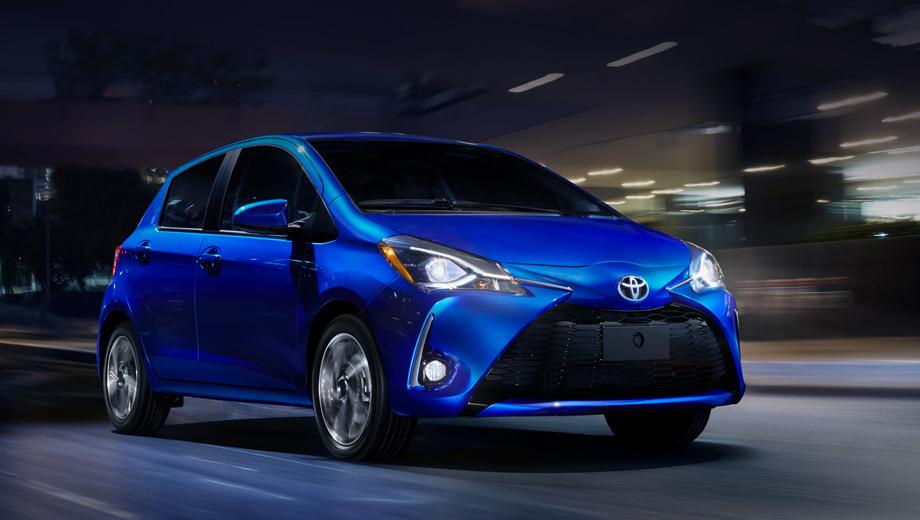 Американцы указали на дверь хэтчбеку Toyota Yaris
