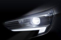 Хэтчбек Opel Corsa первым в классе предложит матричный свет