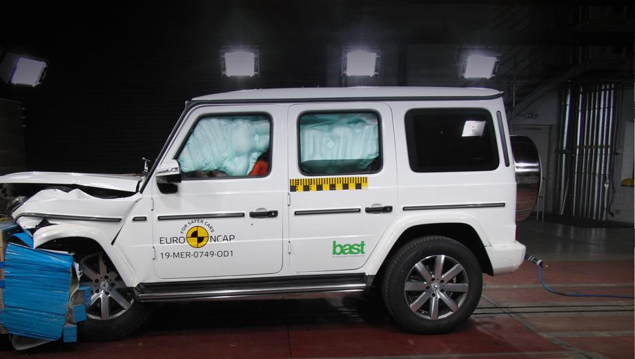 Три новые модели заслужили высшие оценки Euro NCAP