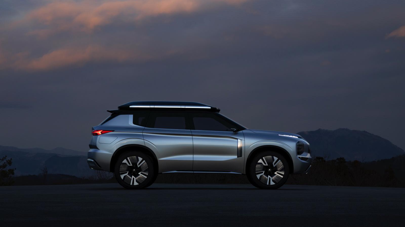 Концепт Mitsubishi Engelberg — будущий серийный Outlander?