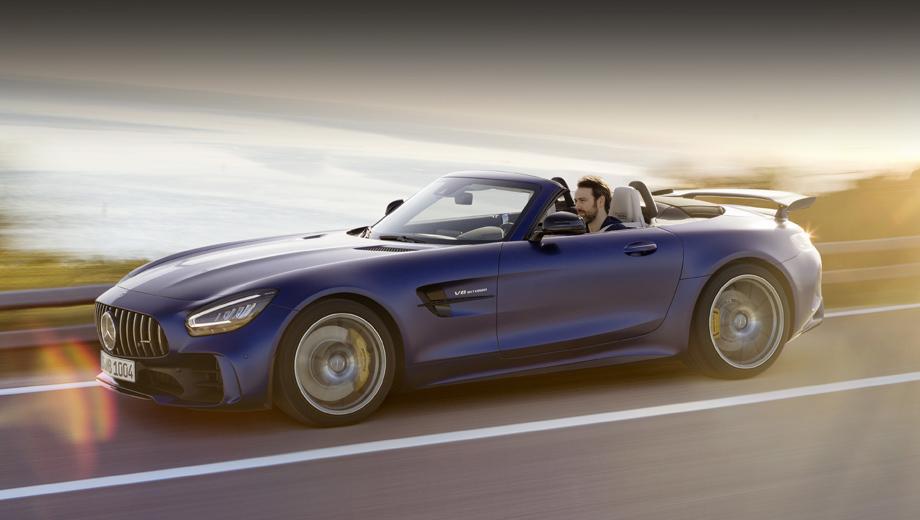 Родстер Mercedes-AMG GT R предложил смесь разных жанров
