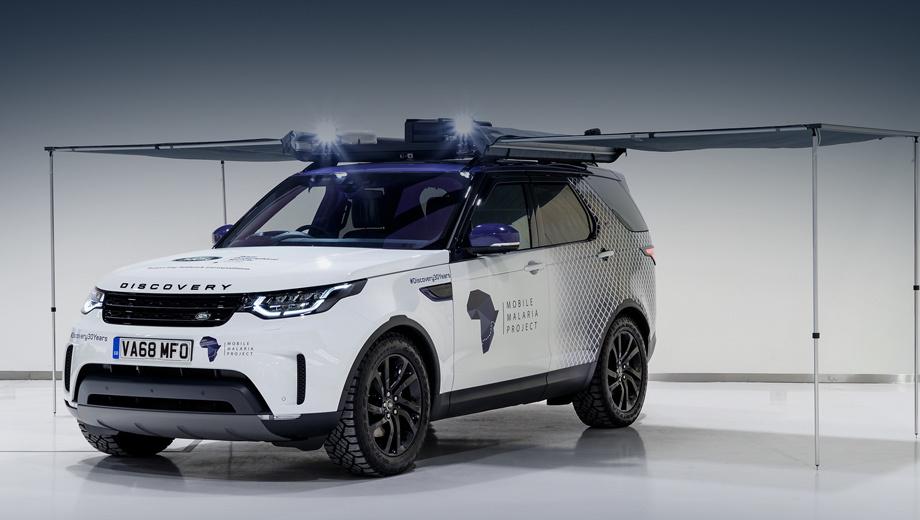 Отделение SVO снарядило Land Rover Discovery в Африку