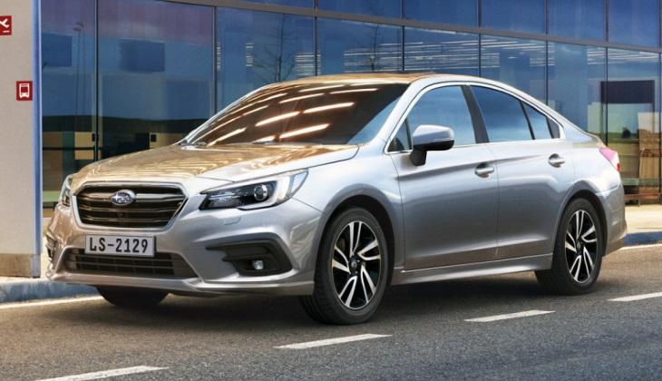 Обновленный седан Subaru Legacy доступен для заказа