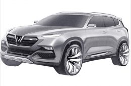 Вьетнамская компания запатентовала дизайн седана и кроссовера для России