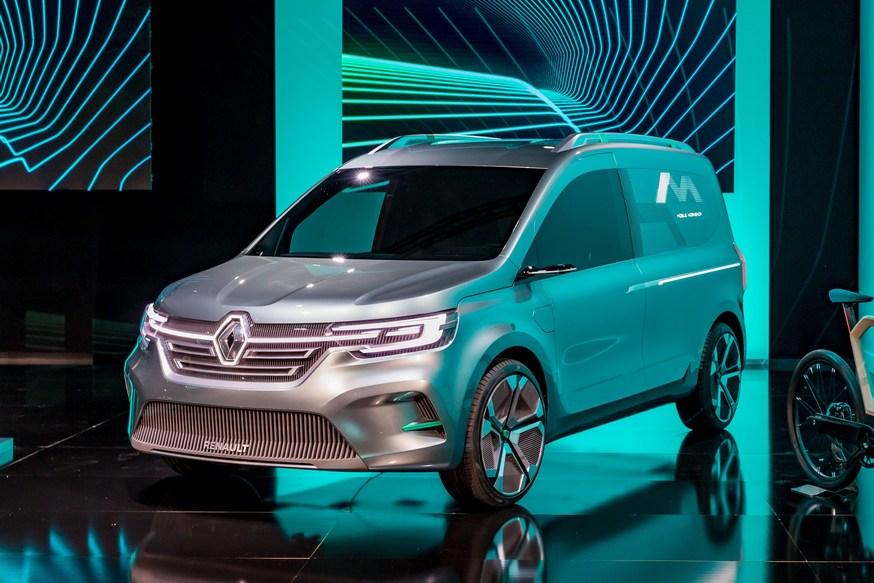Renault Kangoo наконец-то сменил дизайн, а у пикапа Alaskan увеличили грузоподъемность