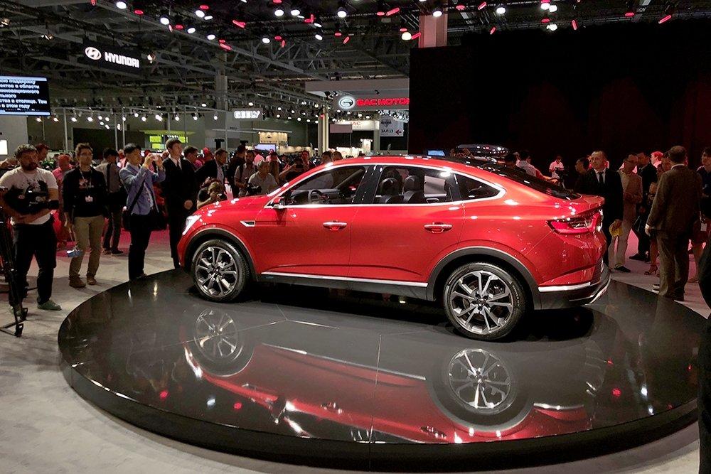 Renault Arkana официально представят в Москве 22 мая