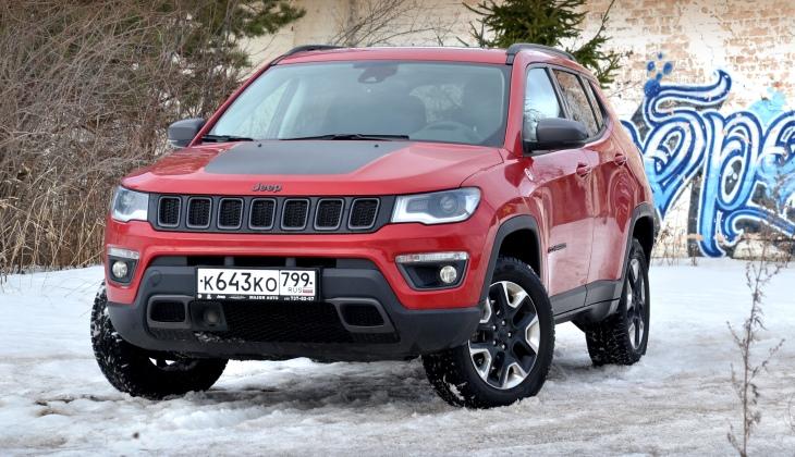 Нетипичный: тест-драйв кроссовера Jeep Compass Trailhawk