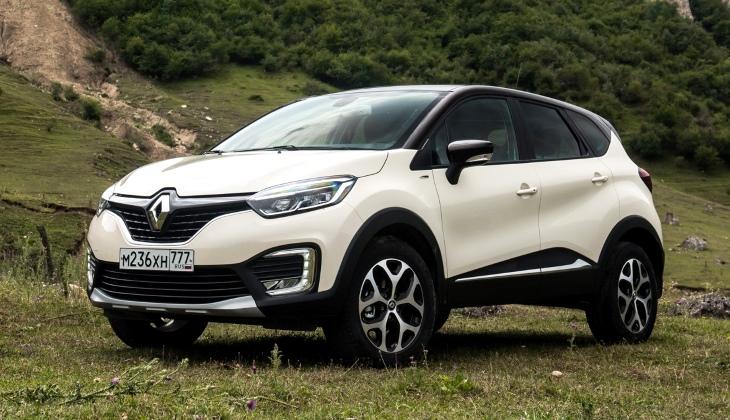 Кроссовер Renault Kaptur получил несколько обновлений