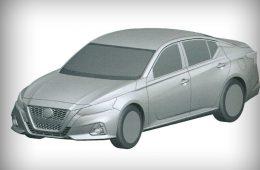 В России запатентовали новый Nissan Teana