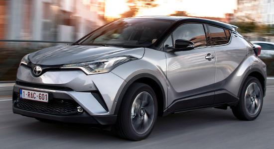 Модельный ряд автомобиля Toyota