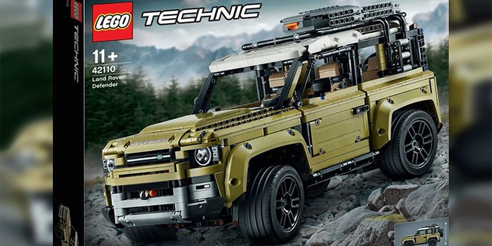 Дизайн нового Land Rover Defender показали в наборе конструктора Lego