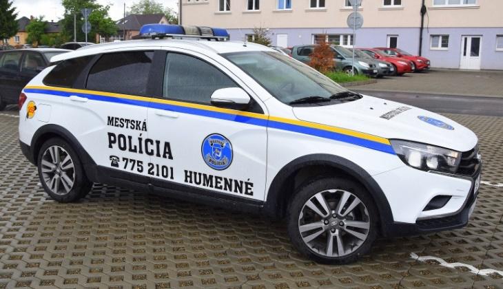Российская «Лада Веста» поступила на службу в полицию Словакии