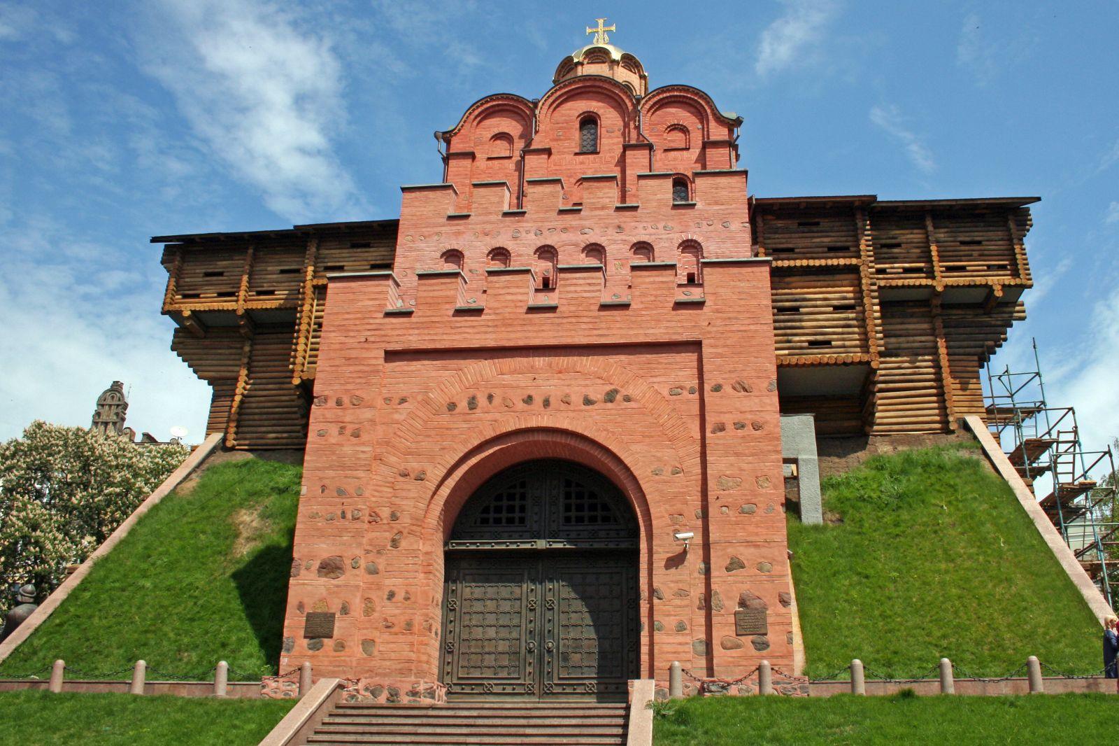 Исторические памятники. Золотые ворота в Киеве
