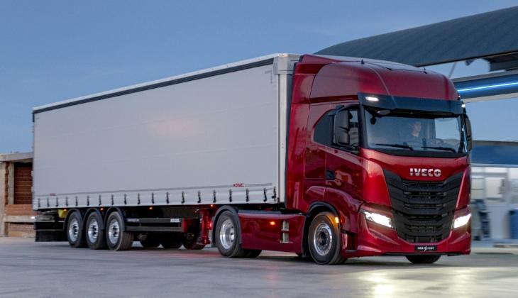 Представлено новое семейство магистральных тягачей Iveco S-Way
