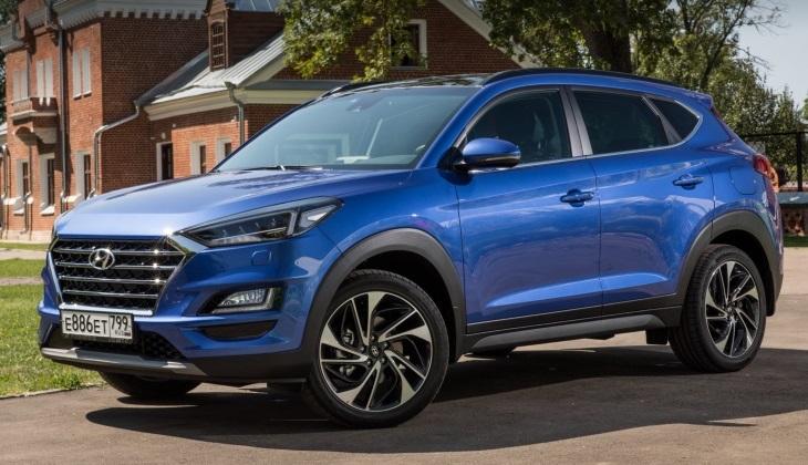 Кроссовер Hyundai Tucson получит новый мотор