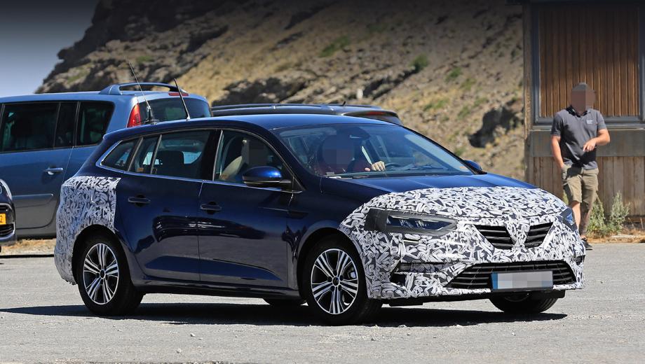 Универсал Renault Megane напомнил о скором обновлении