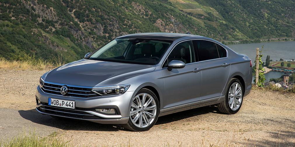 Volkswagen назвал дату начала российских продаж обновленного Passat