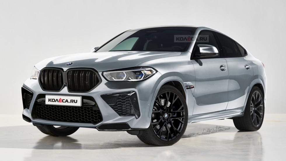 Новый BMW X6 M: первые изображения