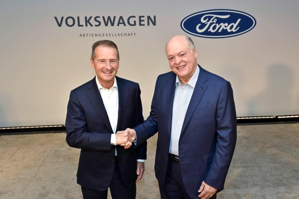 Не только коммерческие автомобили: VW и Ford расширяют сотрудничество