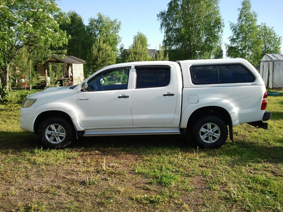 В чем необходимость кунгов для Toyota Hilux?