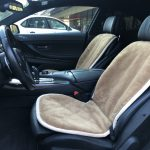 Шерстяные накидки на сиденье автомобиля