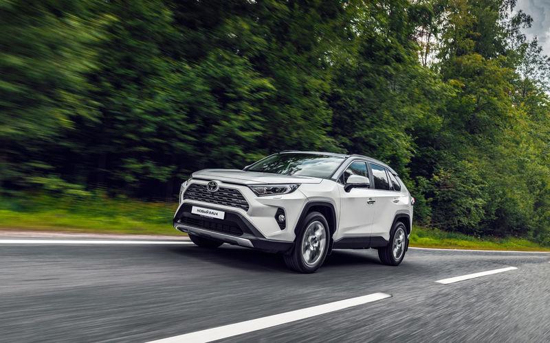 Новый Toyota RAV4 для России — первые подробности