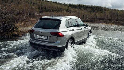 Volkswagen Tiguan в России обзавелся «зимней версией»