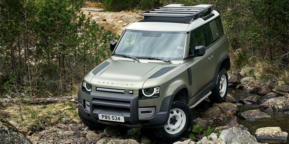 Новый Land Rover Defender получит функцию дистанционного управления
