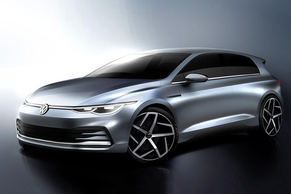 Volkswagen показал, как будет выглядеть новый Golf