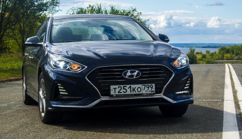 Тест-драйв седана Hyundai Sonata: не засните за рулём!