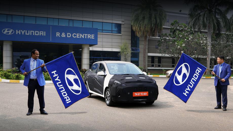 Седанчик Hyundai Aura породнится с хэтчем Grand i10 Nios
