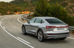 Электрический Audi e-tron Sportback. Купе-кроссовер появится и в России