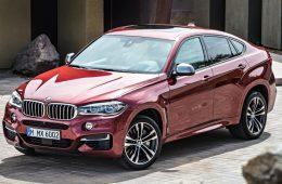 В России отзывают кроссоверы BMW X6